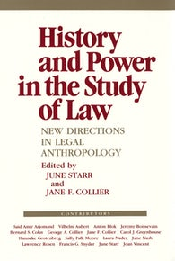 History and Power in the Study of Law